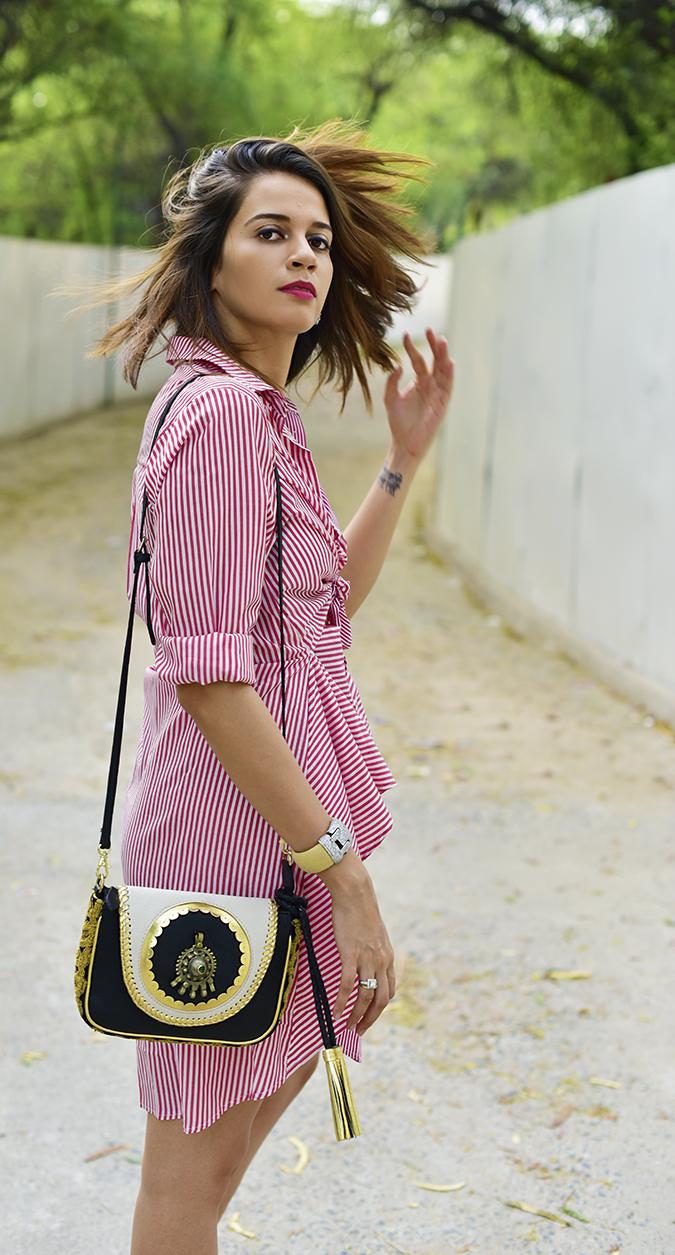 Fashion Capsule by Mallika Jain | Akanksha Redhu | hair flip