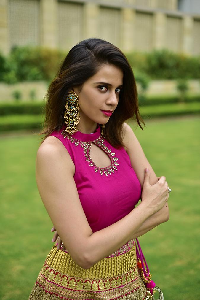 Fashion Capsule | Akanksha Redhu | half front arms crossed
