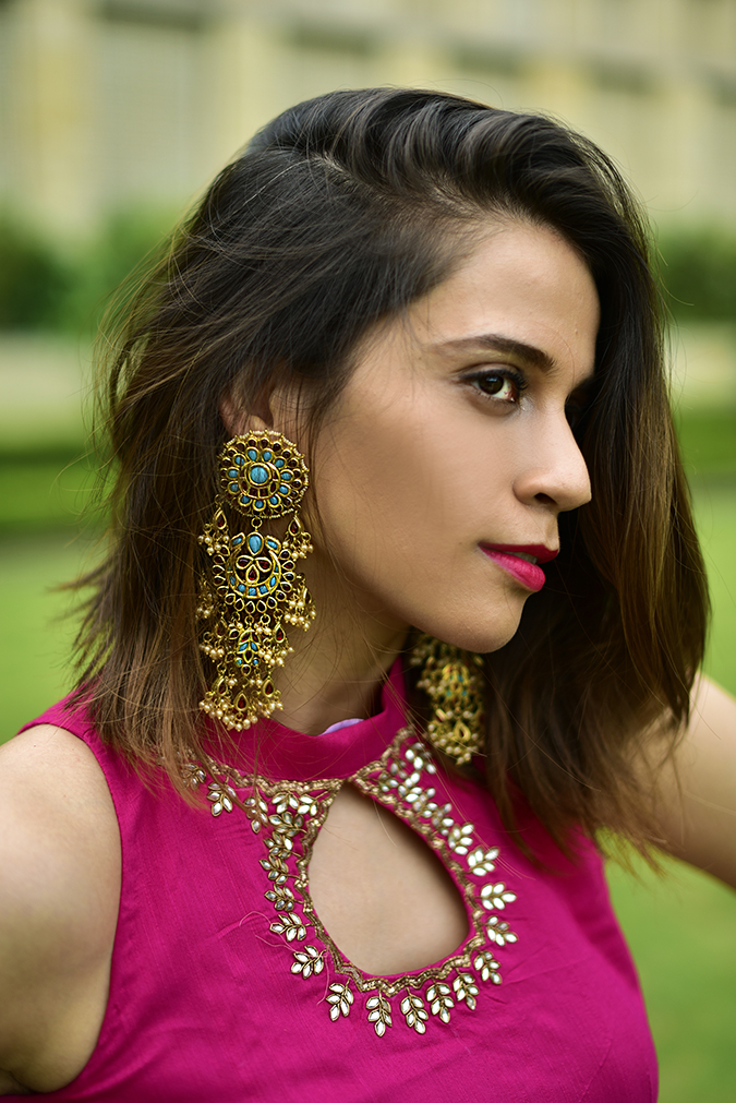 Fashion Capsule | Akanksha Redhu | face earrings