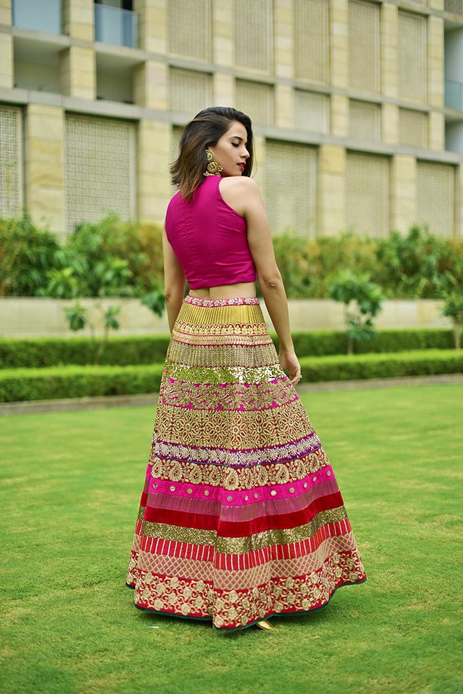 Fashion Capsule | Akanksha Redhu | full back