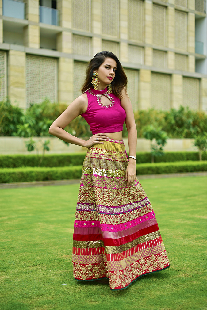 Fashion Capsule | Akanksha Redhu | full front arm on waist