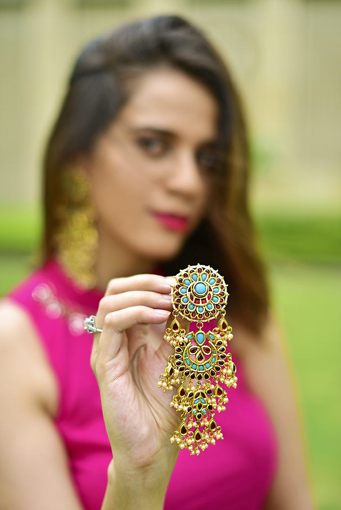 Fashion Capsule | Akanksha Redhu | earring focus