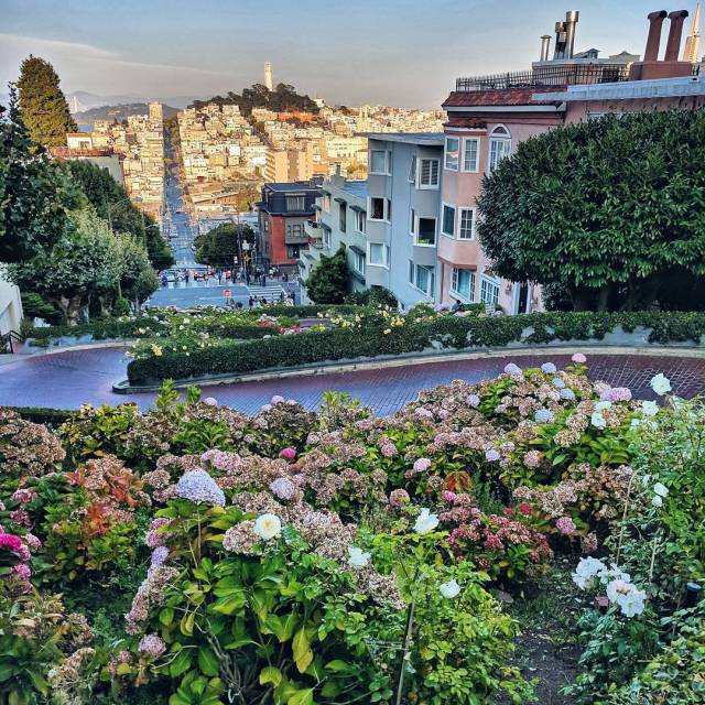 RedhuTravels  Of course I did Lombard Street in Sanhellip