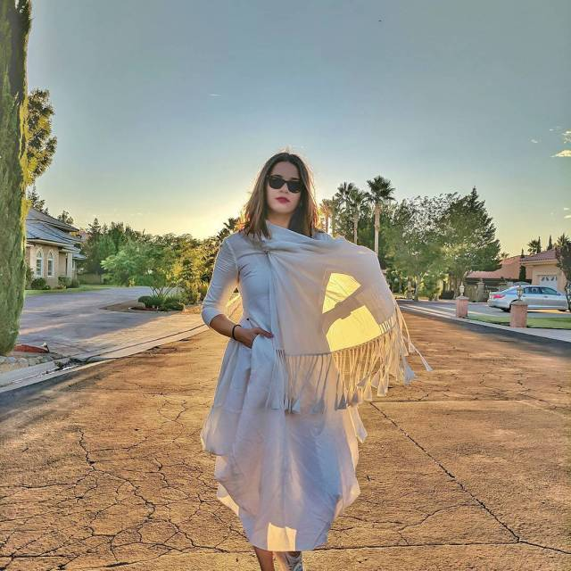RedhuTravels  Golden Hour magic in this aikeyah dress inhellip