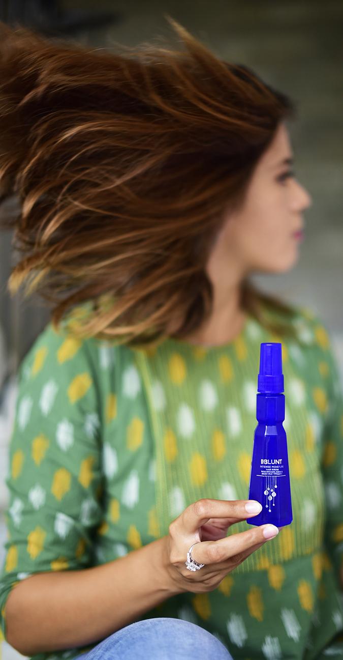 Intense Moisture Hair Serum   BBLUNT   Akanksha Redhu   hair flip