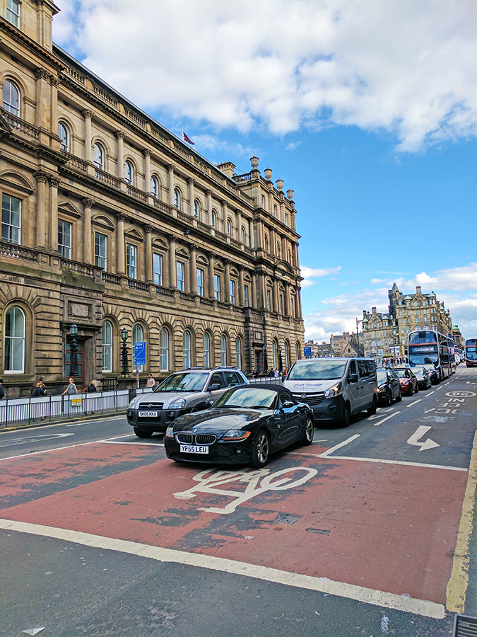 Edinburgh | Akanksha Redhu | cars on road daytime