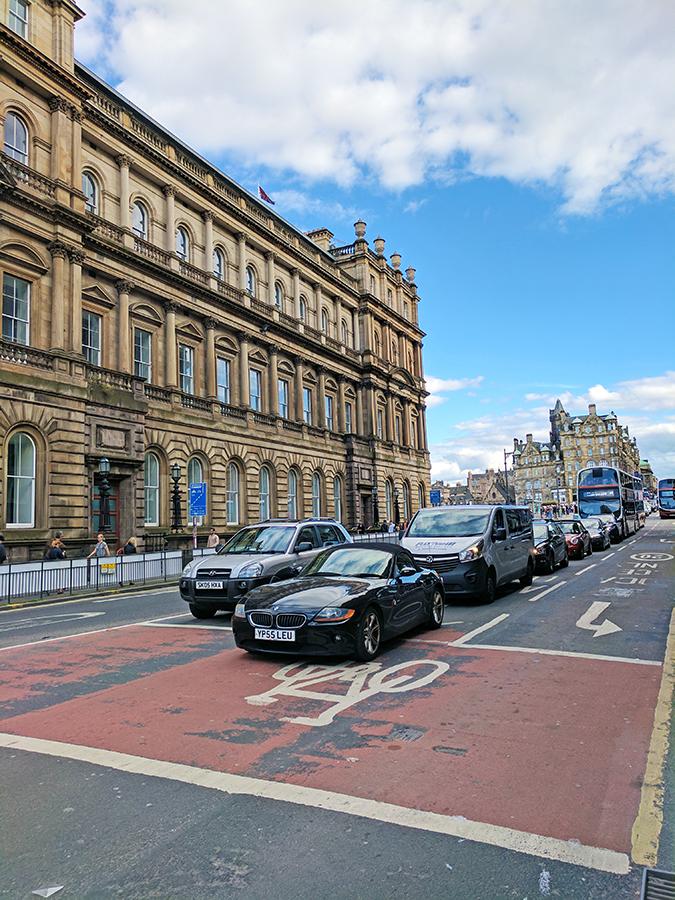 Edinburgh | Akanksha Redhu | cars on road daytime