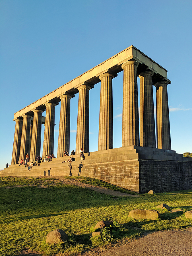 Edinburgh | Akanksha Redhu | calton hill full stonehenge