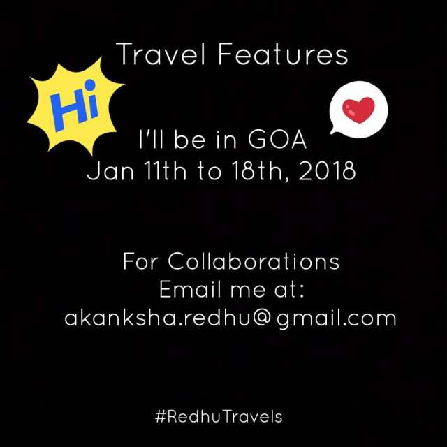 A quick announcement Ill be traveling to GOA  fromhellip