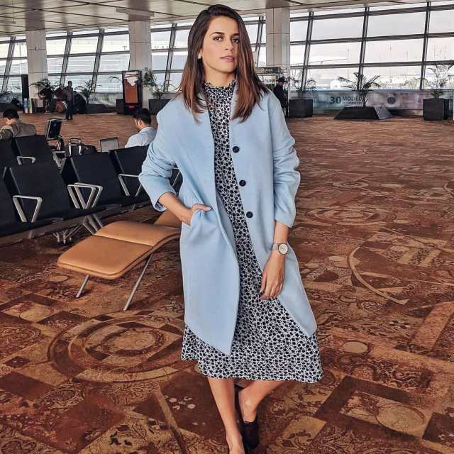 My easy airport look today In Bombay for the dayhellip