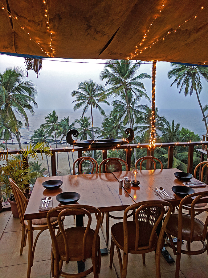 Places to Eat | Goa | Akanksha Redhu | antares view