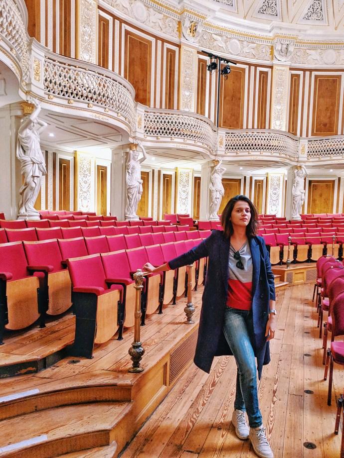 Must See Liverpool   Akanksha Redhu   Visit Britain   Me in Concert Hall