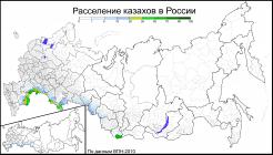 Kazakhs in Russia (2010) by Avdeev