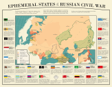 Ephemeral States of the Russian Civil War by PisseGuri82