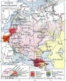 Russia Races and Religions (1858) from Histoire Et Géographie, Atlas Général Vidal-Lablache