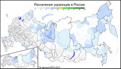 Ukrainians in Russia (2010) by Avdeev