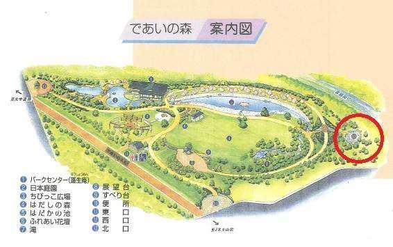 野添北公園マップ