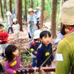 子ども達が森を考える。
