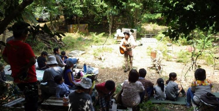 森の歌会。