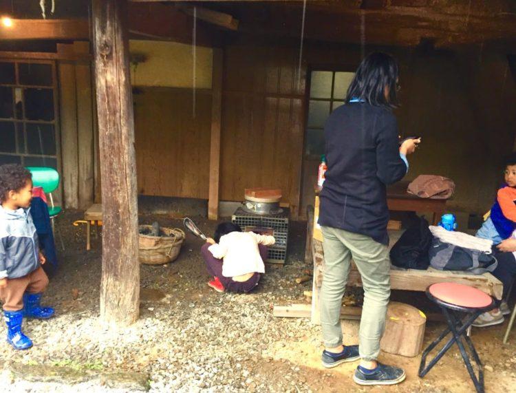 羽釜を炊く1