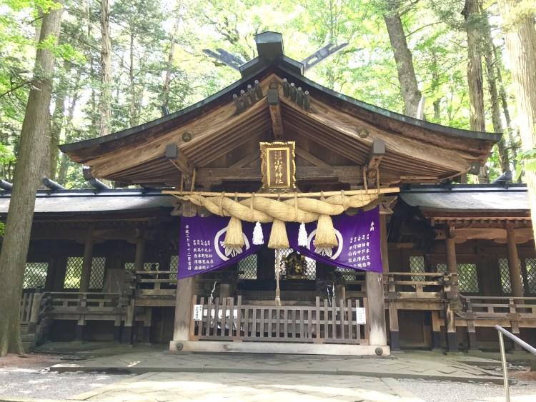 小野神社。