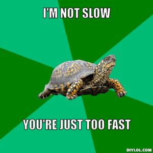 too fast meme