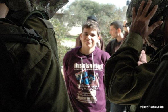"""Look that beautiful Smile, we say; """"Who does not own anything, should not fear anything"""" :) Being arrested on January 23, 2011"""