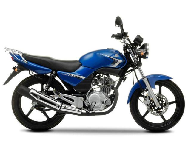 Yamaha ybr 125 учебная мототехника.