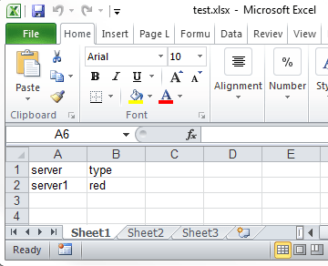 Query and update an Excel 2010 spreadsheet via a linked server | AKAWN