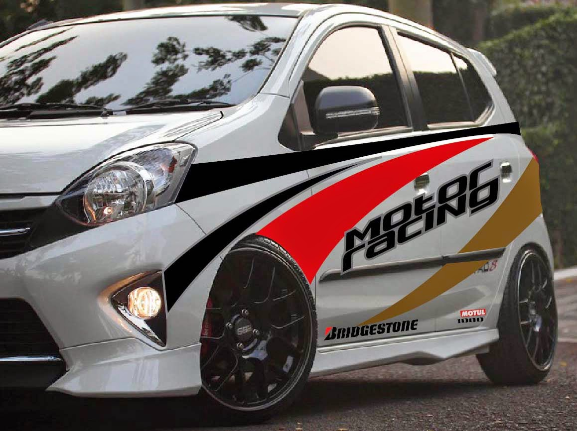 grand new avanza warna putih toyota yaris trd parts 93 modifikasi stiker all hitam 2017