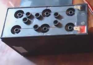 Су құюға дайын батарея