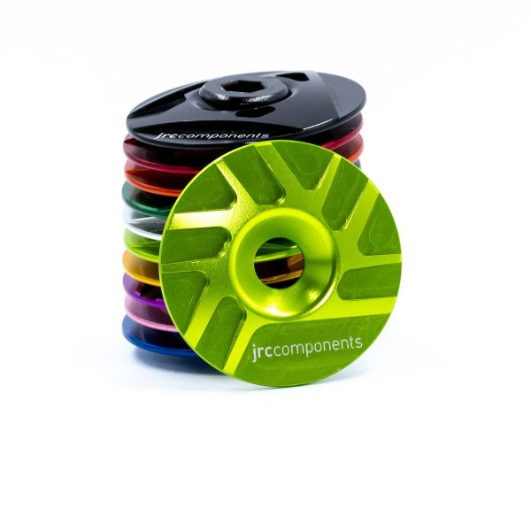 "Kapa sterów 1 1/8"" JRC Components - Pathway Design - fluo zielone /acid green/"
