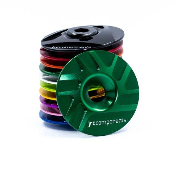 "Kapa sterów 1 1/8"" JRC Components - Pathway Design - ciemno zielone /emerald green/"