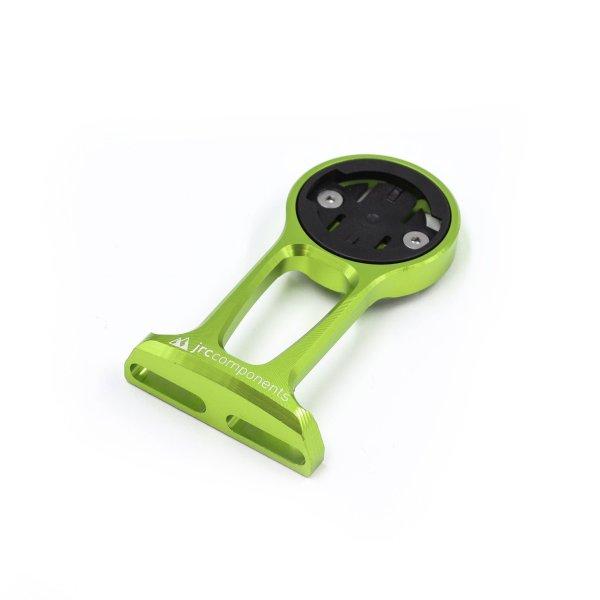 Uchwyt licznika JRC Components - do Wahoo - Przednie mocowanie do mostka - fluo zielony /acid green/