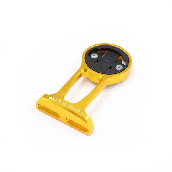 Uchwyt licznika JRC Components - do Wahoo - Przednie mocowanie do mostka - złoty /gold/