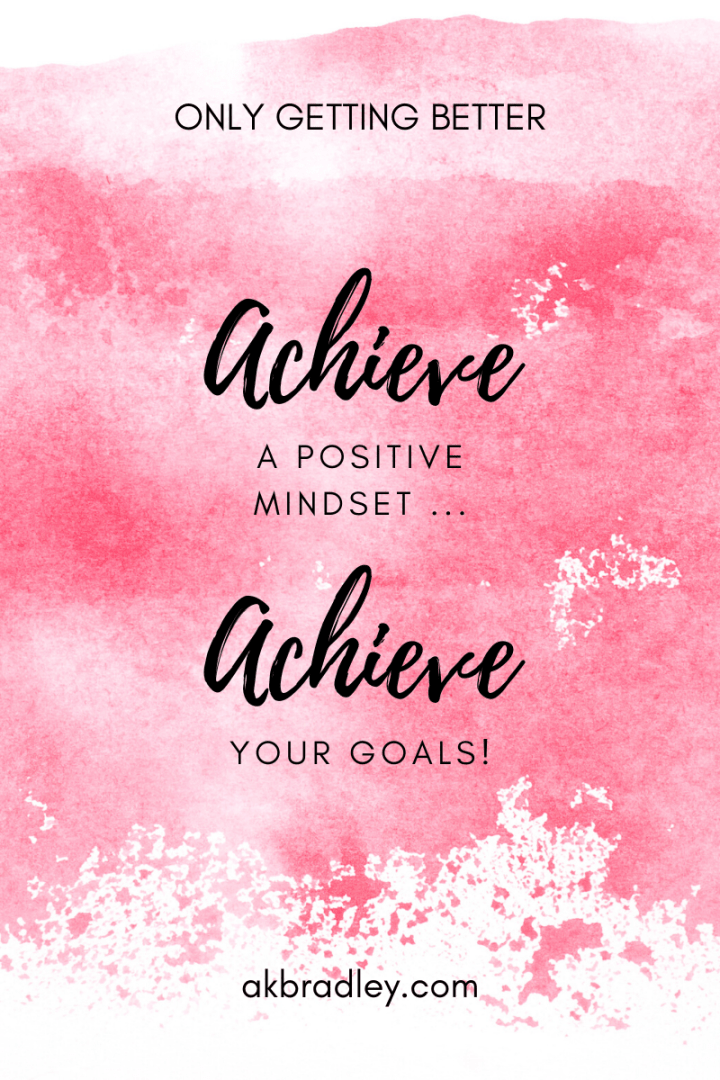 Achieve a Positive Mindset … Achieve Your Goals!