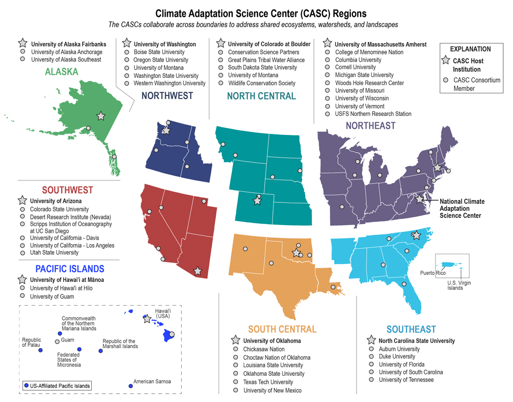 map of casc regions