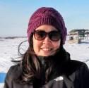 jerilyn kelly outdoors in winter