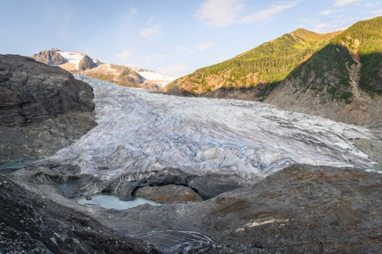 Melting glaciers could speed up carbon emissions into the atmosphere