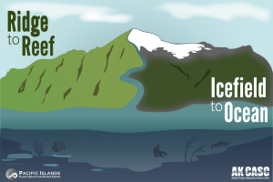 Learn about the unique CASC collaboration studying ridge-to-reef and icefield-to-ocean connections across the Pacific