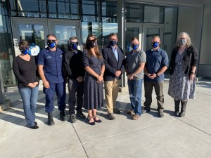 AK CASC Leadership met with US Coast Guard officials on Arctic science needs