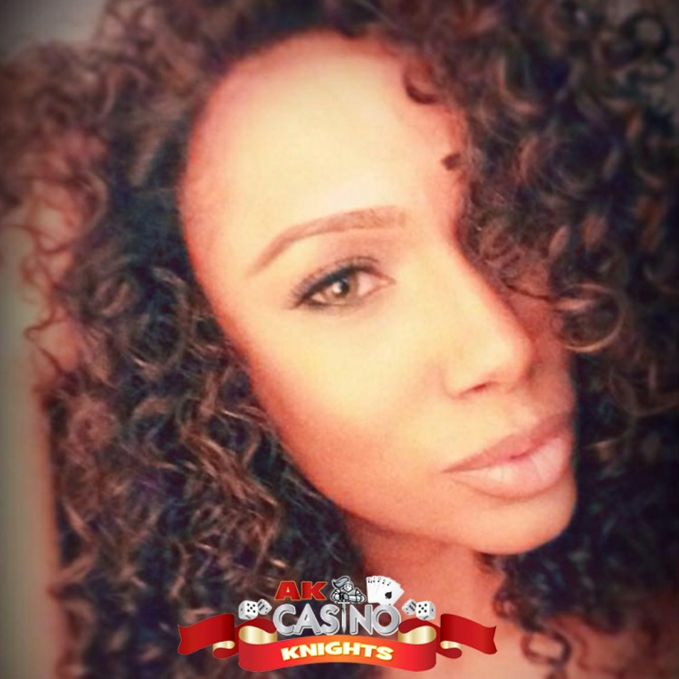Lovely lady croupier casino hire for TV