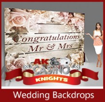 A K Casino Knights fun casino hire wedding backdrops wedding casino hire