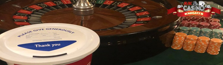 Roulette hire for charity fundraiser