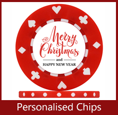 Personalised christmas chips
