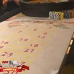 Vintage casino hire roulette table