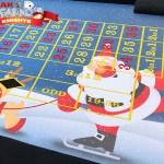 Christmas casino tables