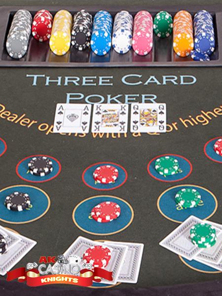 Three card poker casino hire suffolk