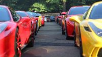 74 Pecinta Ferrari Tancap Gas ke Cirebon