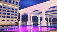 Kolam infinity pool (Hotel Adimulia Medan)
